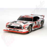 Automodel electric on-road Tamiya Ford Zakspeed Turbo Capri Gr. 5 Würth (Sasiu TT-02) scara 1/10 - KIT