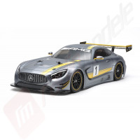 KIT Automodel electric on-road Tamiya Mercedes-AMG GT3 (TT-02), scara 1/10