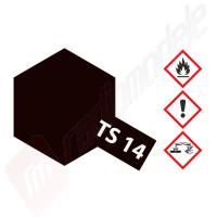Vopsea pentru plastic TAMIYA NEGRU STRALUCITOR TS-14 (spray 100ml)
