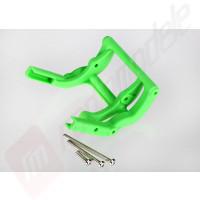 Suport wheelie bar verde - automodele TRAXXAS Rustler