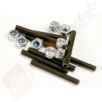 Set suruburi autofiletante 3x25mm (8 buc), pentru automodele TRAXXAS