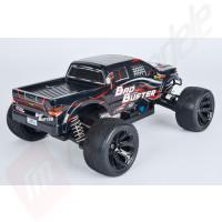 Masinuta teleghidata electrica Carson Bad Buster Monster Truck 1:10 4x4 2.4GHz, TOTUL INCLUS!