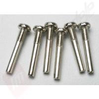 Pini fixare 2.5x18mm(6buc), pentru automodele TRAXXAS 1/10