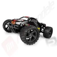 Masinuta teleghidata electrica HiMoto Monster Truck MASTADON 2,4GHZ, 4x4 RTR scara 1:18, neagra