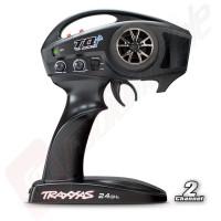 Telecomanda pentru automodele TRAXXAS TQi 2.4GHz cu 2 canale, bluetooth link - ready