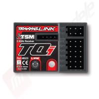 Receptor micro TQi 2.4GHz cu TSM si telemetrie (5-canale), pentru automodele TRAXXAS