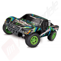 Automodel TRAXXAS Slash 4x4, radio 2.4GHz TQ, WATERPROOF, motor cu perii!