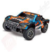 Automodel TRAXXAS Slash 4x4 ULTIMATE, brushless, radio TQi 2.4GHz, full tuning aluminiu, telemetrie, TSM!