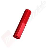 Corp amortizor GTX rosu pentru automodel Traxxas X-MAXX
