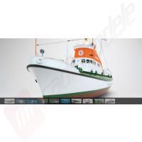 Navomodel Graupner Premium Line WP THEODOR HEUSS