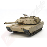 Tanc Radiocomandat Tamiya US M1A2 Abrams Full Option, Kit, Scara 1:16