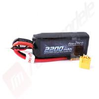 Acumulator GensAce LiPo 2S, 2200mah 7.4v, 50C, conector XT60, pentru  automodele TRAXXAS 1/16
