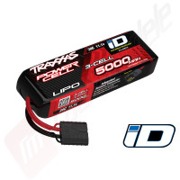 LiPo 3s: 5000mAh, 20c, 11.1v, mufa TRX ID