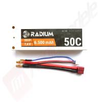 Acumulator LiPo 2S HardCase 7.4V 6500mAh 50C