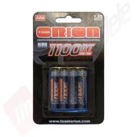 Acumulatori AAA de mare capacitate - 1100mAh pentru mini-modele si Kyosho Mini-Z