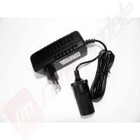 Adaptor 220v - 12V cu mufa de bricheta auto, iesire 2.5A