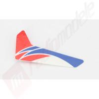 Blade mCP X: Aripioara verticala coada, rosie