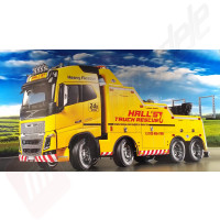 Kit camion de tractare si interventie 1:14 Tamiya Volvo FH16 8x4