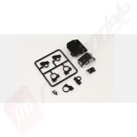 Carcasa si suport motor pentru automodel Kyosho Mini-Z MR03