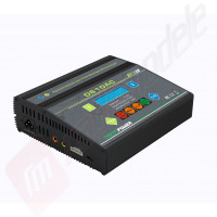 Incarcator digital cu doua iesiri (2x100W) D610AC - alimentare 12v CC / 220v AC