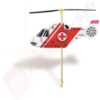 Elicopter din spuma cu propulsie benzi elastic