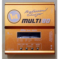 Incarcator digital Hobbytech XT MULTI 80 - alimentare 12/220V, curent maxim incarcare 6 amperi