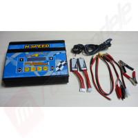 Incarcator digital cu doua iesiri (2x80W) H-Speed - alimentare 12v CC / 220v AC