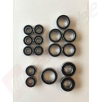 Set 16 rulmenti cu garnitura de cauciuc pentru TRAXXAS Slash 4x4, Telluride, Stampede 4x4