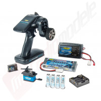 Carson Reflex Pro 3 - pachet completare kituri sau ARR electric - contine telecomanda, receptor, servo, acumulatori si incarcator