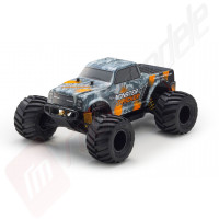 Automodel ultra-rezistent Kyosho MONSTER TRACKER 1:10, tractiune spate - TOTUL INCLUS!