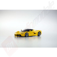 Automodel electric 1/28 Kyosho Mini-Z MR03 Sports La Ferrari galben, RTR