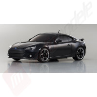 Automodel electric 1/28 Kyosho Mini-Z MR03 Sports Subaru BRZ gri metalizat, RTR