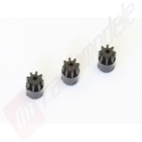 Set 3 bucati pinioane 8 dinti pentru automodel Kyosho Mini-Z MR03