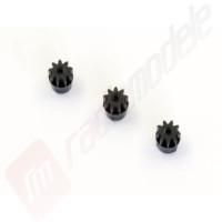 Set 3 bucati pinioane 9 dinti pentru automodel Kyosho Mini-Z MR03
