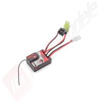 ESC + receiver 2in1 model 202RE pentru automodele HiMoto 1/18