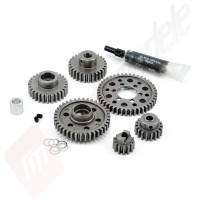 Set complet angrenaje metalice cutie viteze Revo / T-MAXX 3.3 pentru mers inainte, Robinson Racing