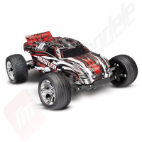 Automodel electric off-road TRAXXAS Rustler XL-5 - Telecomanda TQ 2,4 GHz, acumulator si incarcator la 12V incluse!