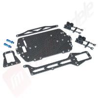 Kit upgrade sasiu fibra carbon, pentru automodel LaTrax Teton