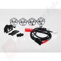 Set reflectoare LED pentru automodele TRAXXAS Stampede 4x4 sau Telluride