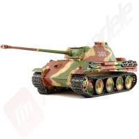 Tanc Radiocomandat Tamiya Panther Typ G, full option, Kit, Scara 1:16