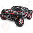 Automodel TRAXXAS Slash 2WD brushless, RTR, 2.4Ghz, sunet motor, control tractiune, acumulator si incarcator 12v incluse