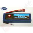 Acumulator LiPo 2s, 5000mAh, 20c, 7.4v, mufa TRAXXAS