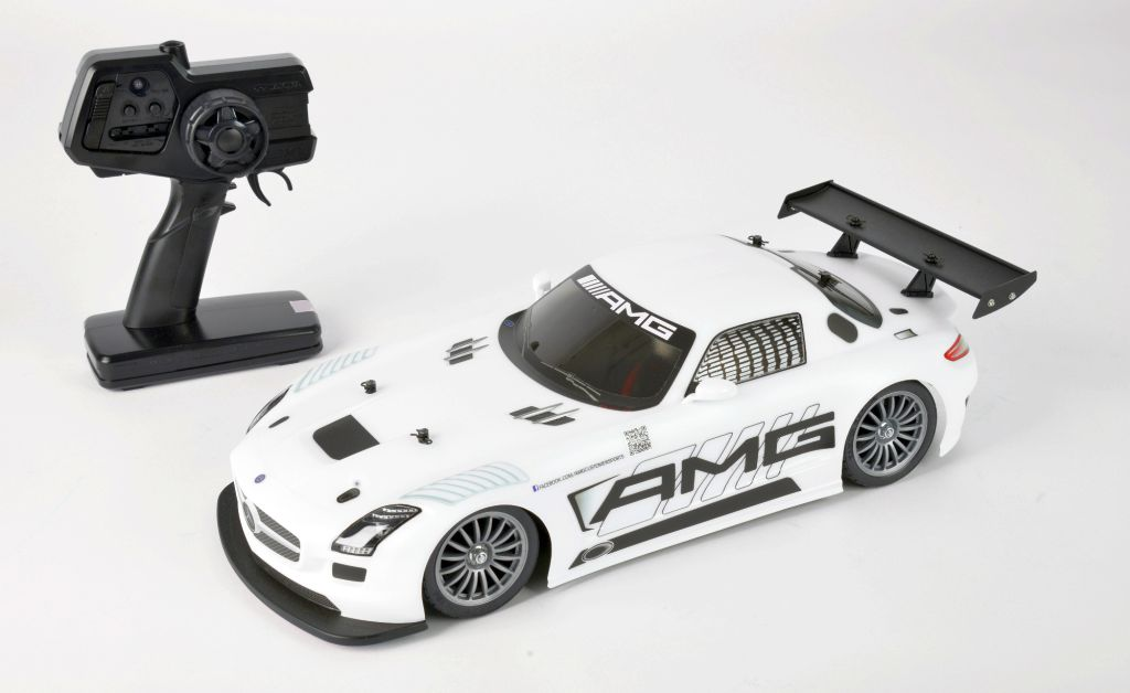 Automodel electric on-road Tamiya XBS Mercedes-Benz SLS AMG GT3 2,4 GHz