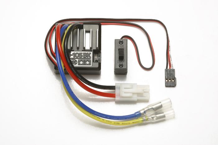 TAMIYA: Regulator turatie (ESC) TEU-105BK pentru motoare cu perii 540 (27T)