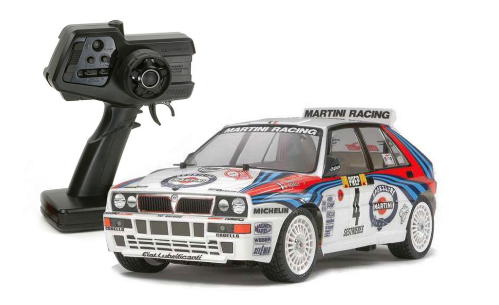 Automodel electric on-road Tamiya XBS Lancia Delta Integrale 2,4 GHz