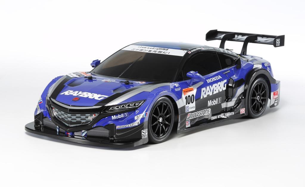 KIT electric on-road 4x4 Tamiya RAYBRIG NSX Concept-GT (Sasiu TT-02) scara 1/10