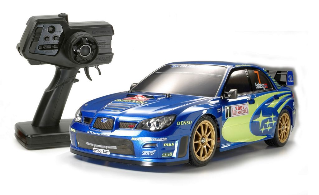 Automodel electric on-road Tamiya XBS Subaru Impreza WRC 2007 2,4 GHz