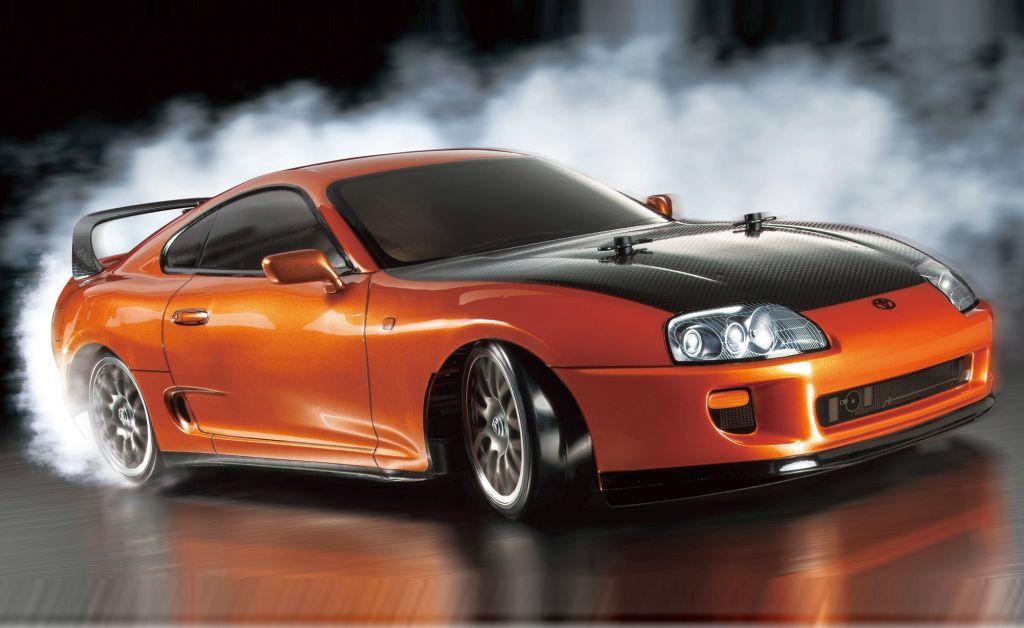 Kit automodel Tamiya Toyota Supra TT-02 Drift Spec scara 1/10
