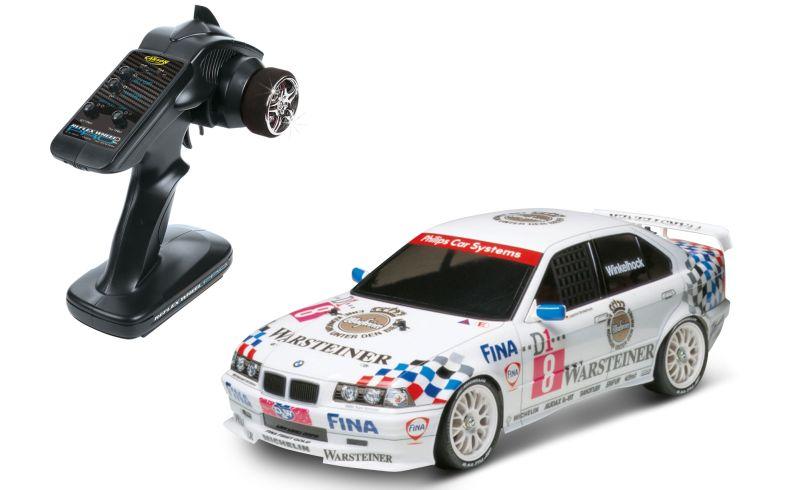 Automodel electric on-road Tamiya XBS BMW 318i STW Warsteiner 2,4 GHz Exclusive Line