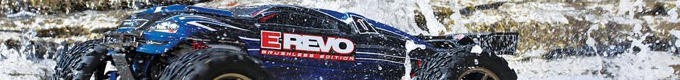 masinuta TRAXXAS E-Revo Brushless rezistent la apa